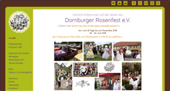 Preview of dornburger-rosenfest.de