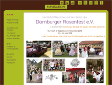 Tablet Preview of dornburger-rosenfest.de